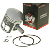 piston set Naraku 70cc for Minarelli AC, LC NK100.99 für Benelli 491 Replica 50 ND0200P 2003, 2,7 PS, 2 kw