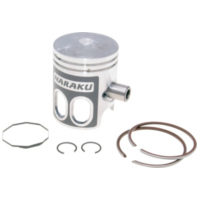 piston set Naraku 50cc for Minarelli AC, LC 10mm pin NK101.10 für Benelli 491 Replica 50 ND0200P 2003, 2,7 PS, 2 kw