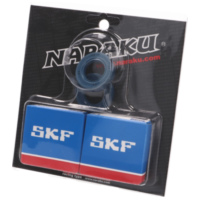 crankshaft bearing set Naraku SKF C4 metal cage for Derbi EBE, EBS, D50B0 NK102.91 für Aprilia SX  50 PVE00 2010, 4,9 PS, 3,6 kw