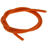 ignition cable Naraku orange in color 1m in length NK390.37