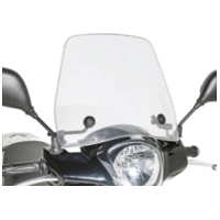 windshield Puig Trafic transparent / clear universal PUI4873W für Benelli 491 Replica 50 ND0200P 2003, 2,7 PS, 2 kw
