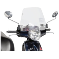 windshield Puig Trafic transparent / clear for Kymco Like 50, 125, 200i (09-14) PUI5670W