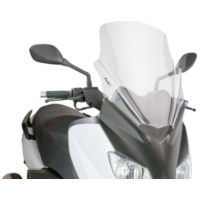 windshield Puig V-Tech Line Touring transparent / clear for Yamaha X-Max 125 YP125R 10-14 PUI6259W