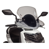 windshield Puig City Touring smoke for SYM HD 200i EVO 08-14 PUI6370H