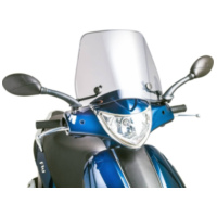 windshield Puig Trafic smoke for Piaggio Fly 50 (05-14) PUI6533H