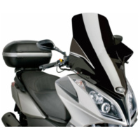 windshield Puig V-Tech Line Touring black for Kymco Downtown 125i, 300i ABS 09-14 PUI6790N