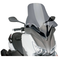 windshield Puig V-Tech Line Touring dark smoke for Yamaha X-Max 125, 250, 400 2014- PUI6874F
