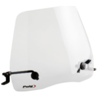 windshield Puig Urban transparent / clear universal PUI7599W für Benelli 491 Replica 50 ND0200P 2003, 2,7 PS, 2 kw