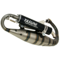 exhaust Yasuni Carrera 16 black for Minarelli vertical YA308B