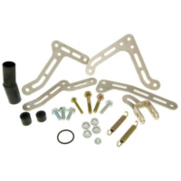 exhaust Yasuni R1 mounting kit complete for Minarelli AM Off-road, SM YAZ-BSP808R