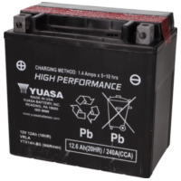 battery Yuasa YTX14H-BS DRY MF maintenance free YS36195