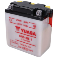 battery Yuasa 6N6-3B-1 w/o acid pack YS36208