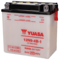 battery Yuasa 12N9-4B-1 w/o acid pack YS36266